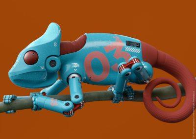 Concept Robot Kameleon