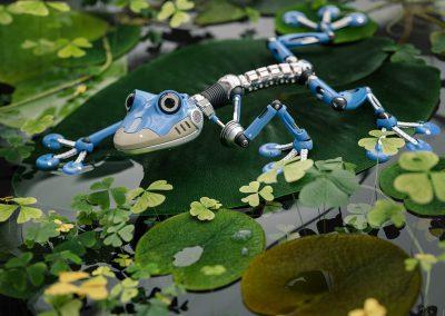 Concept Frog Robot