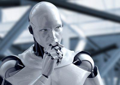 "Concept ""Thinking Robot"""